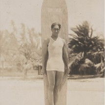 Hang ten with surfing legend Duke Kahanamoku