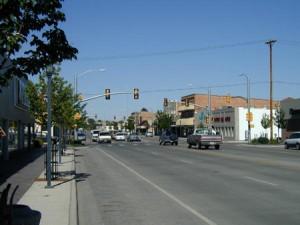 Downtown Worland, Wyoming