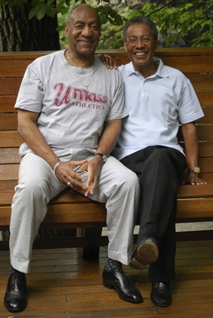Bill Cosby, left, and Alan Poussaint (AP photo, courtesy of Erinn Cosby)