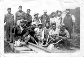 Braceros worked in agriculture and maintained railroad tracks in more than 30 U.S. states. (Photo by Aaron Castañeda Gamez, 1944)