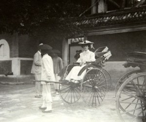 Alice Roosevelt in China, 1905. The Alice Roosevelt Longworth Collection of Photographs from the 1905 Taft Mission to Asia, Freer Gallery of Art and Arthur M. Sackler Gallery Archives
