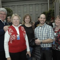 From left, Mark Haddon, director of education at the Environmental Research Center; Jane Holly, SERC education specialist; Anna Janovicz, learning and communication manager at SERC; Josh Falk, SERC education specialist; and Betsy Broun, the director of SAAM.