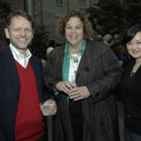 David Royle, executive vice president of SI Networks; Marsha Shaines, deputy general counsel; and Jeanny Kim, vice president of media for Smithsonian Enterprises.