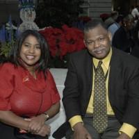 Public Program Specialist Arevivia Amos and James Zimmerman, senior public program specialist at American History.
