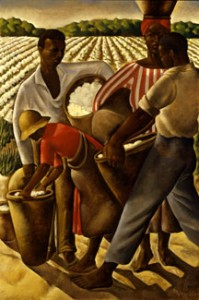 """""""Employment of Negroes in Agriculture"""" 1934, oil on canvas by Earle Richardson."""