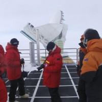 South pole scientific instruments