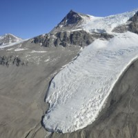 Glacier in Taylor Valley