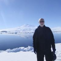 Wayne Clough at McMurdo Sound