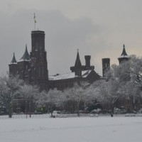 Castle with Snow