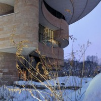 National Museum of the American Indian and Snow