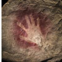 cave handprint