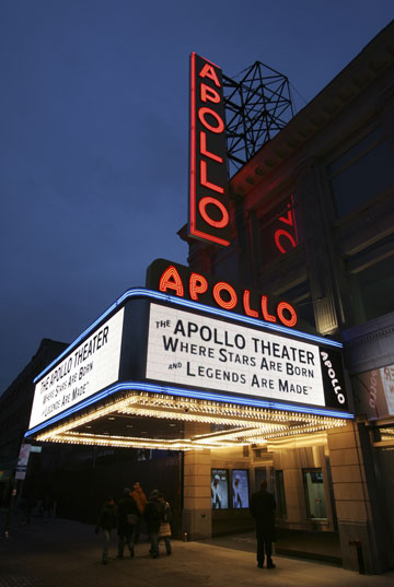 The Apollo Theater in 2008. (Photo by Shahar Azran, courtesy of the Apollo Theater Foundation)