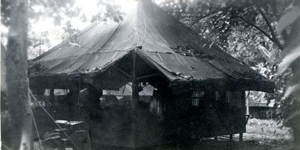 The tent shared by Ted Robinson and John F. Kennedy
