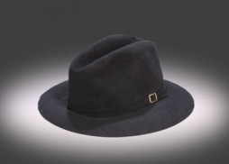 "The fedora Michael Jackson wore during his 1984 ""Victory Tour."" (Photo courtesy Shaan Kokin/Julien's Auctions)"