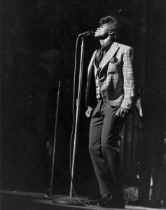 James Brown in performance at the Apollo. (Photo by Kwame Braithwaite, courtesy of the Apollo Theater Foundation)