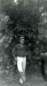 Photo of Ted Robinson taken by John F. Kennedy