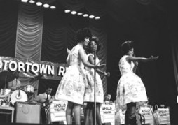 The Supremes early in their career. (Photo by Kwame Braithwaite, courtesy of the Apollo Theater Foundation)