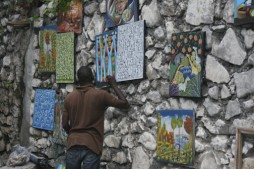 Art is a vibrant force in Haitian culture. (Photo by Ken Solomon)