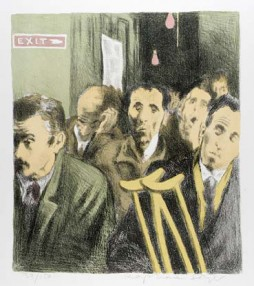 "(Memories, portfolio) ""Unemployed"" by Raphael Soyer, 1969"