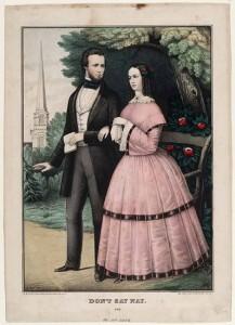 Colored print, 1852-1860, by E.B. and E.C. Kellogg, Hartford, Conn.