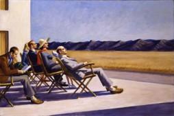 People in the Sun, Edward Hopper, 1960