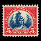 Freedom Statue stamp