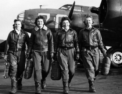 Members of the Women Air Force Service Pilots during WWII.
