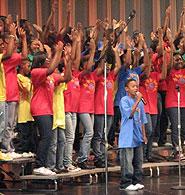 Washington Performing Arts Society Children of the Gospel Choir