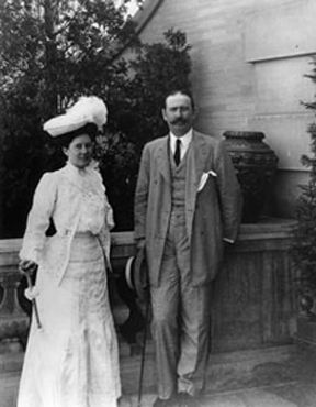 Mr. and Mrs. Larz Anderson gave Diana to the Smithsonian in the hope that their gift would inspire others to philanthropy. The Andersons' house in Washington, D.C., is now the headquarters for the Society of the Cincinnati and is open to the public for tours. (Google Images/Public Domain)