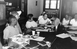 SNCC planning workshop in the early 1960s.