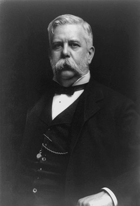 George Westinghouse, Jr. in a portrait by photographer Joseph G. Gessford, ca. 1910