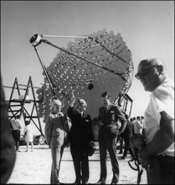 Fred L. Whipple (center) in 1968
