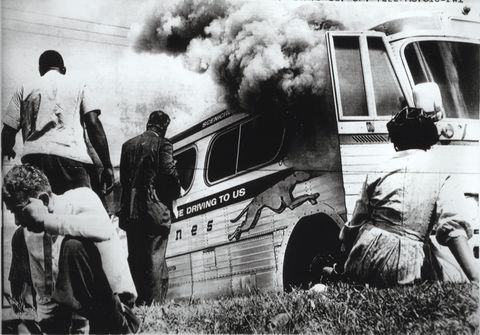 "The Student Nonviolent Coordinating Committee first gained national attention by organizing ""Freedom Rides"" throughout the South."