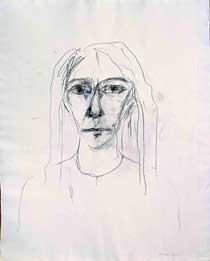 Patti Smith: Self-portrait, 2001