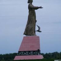 Mother Volga at the Rybinsk Reservoir