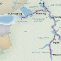 From Moscow to St. Petersberg