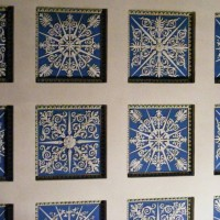 Ceiling tiles, The Hermitage
