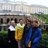 From left, Jan Augustine, Marj Coffin, Jane Gillis, Moira Gillis
