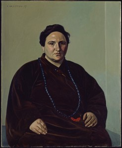 Gertrude Stein by Felix Edouart Vallotton, oil on canvas, 1907.  The Baltimore Museum of Art: The Cone Collection, formed by Dr. Clairbel Cone and Miss Etta Cone of Baltimore, Maryland, © Fondation Félix Vallotton, Lausanne