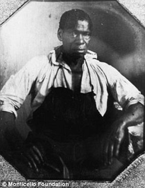 Isaac (Granger) Jefferson (right), the son of an overseer at Monticello, and a pastry cook and laundress, worked as a blacksmith.