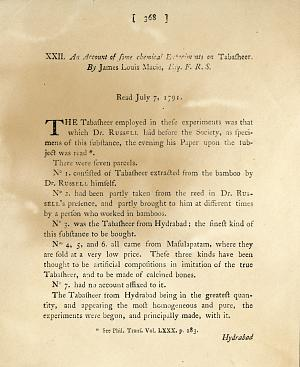 Today in Smithsonian History: July 7, 1791