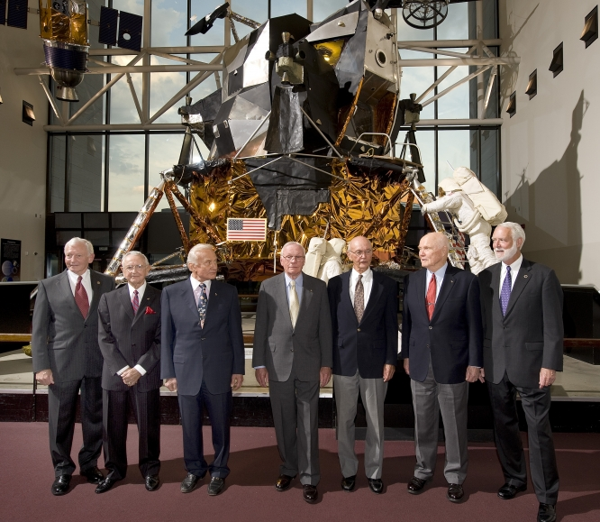 2009 gathering of Apollo 11 astronauts at NASM