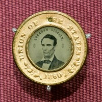 Abraham Lincoln's presidential campaign was one of the first to use photography as a political tool. (Photo by Brian Ireley)