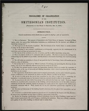 Today in Smithsonian History: December 13, 1847