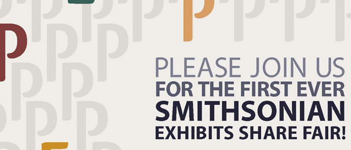 The first ever Smithsonian Share Fair!