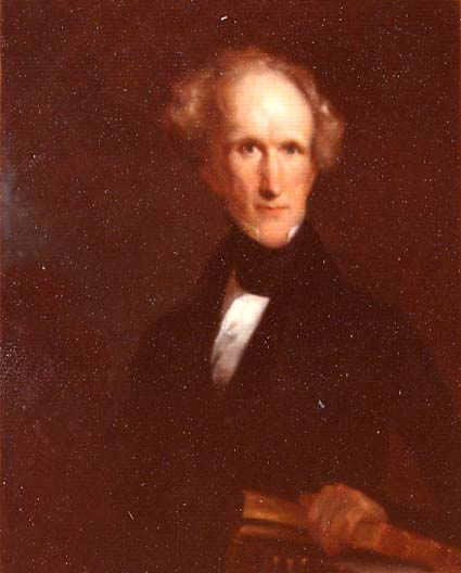 James Barton Longacre (1794-1869), by Emanuel Gottlieb Leutze (1816-1868), c. 1839.