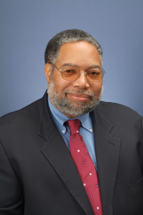Portrait of Lonnie G. Bunch, III, director of the National Museum of African American History and Culture. He previously worked for the Smithsonian at the National Museum of American History. He holds a B.A., MA and PhD in American and African History from American University. (Photo by Harold Dorwin)