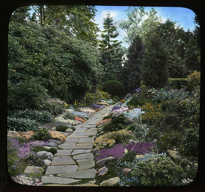 Torch today in smithsonian history march 10 1987 for Garden design 1930