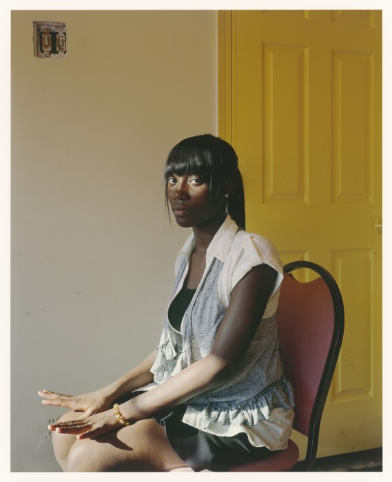 Lillian, New Covenant Church of Deliverance, Chicago, 2011. Paul D'Amato Riverside,Illinois Ink jet print, 2011 Collection of the artist, courtesy Stephen Daiter Gallery, Chicago
