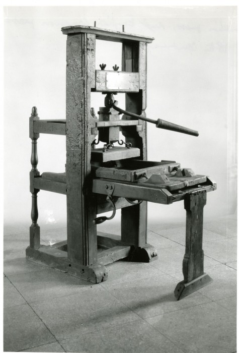 Benjamin Franklin Printing Press